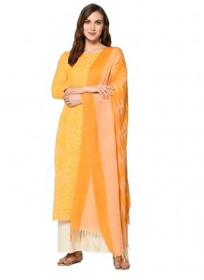 Stunning Yellow Salwar Kameez