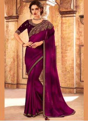 Stupendous Resham Designer Traditional Saree