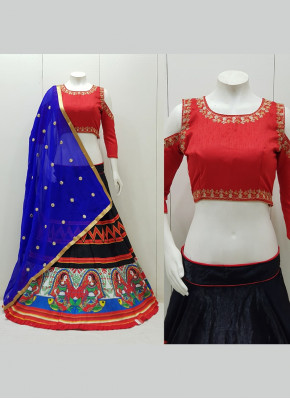 Stupendous Silk Garba Wear Chaniya Choli