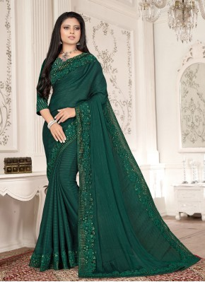 Suave Fancy Fabric Ceremonial Designer Saree