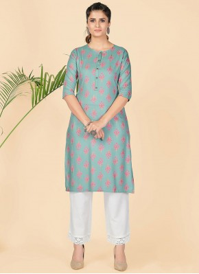 Suave Party Wear Kurti For Festival