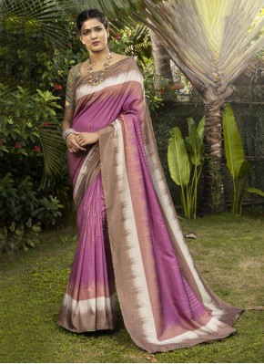 Sumptuous Digital Print Bollywood Saree