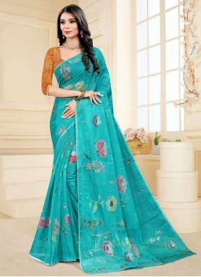 Sumptuous Fancy Fabric Printed Saree