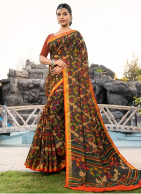Sumptuous Multi Colour Party Bollywood Saree