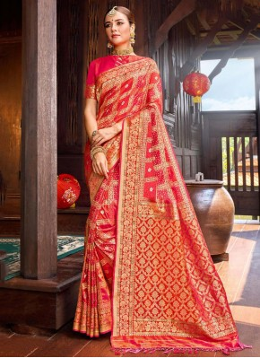 Sumptuous Silk Party Designer Saree