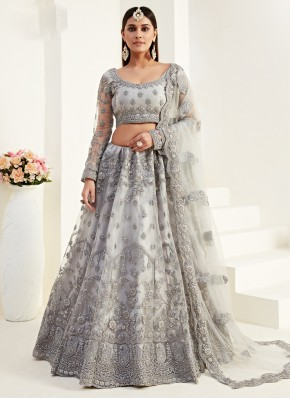 Sunshine Embroidered Engagement Lehenga Choli