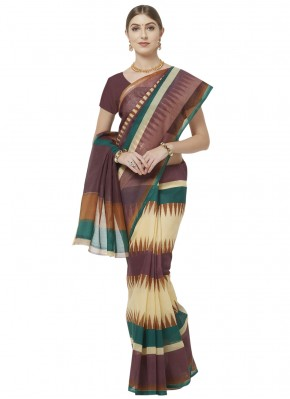 Sunshine Printed Saree For Casual