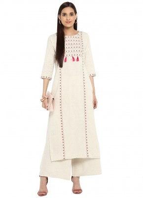 Superb Embroidered Fancy Fabric Designer Kurti