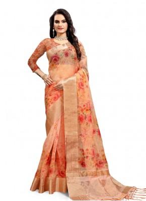 Superb Printed Saree For Festival