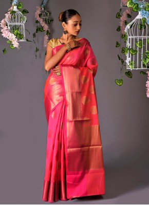 Swanky Chanderi Cotton Fancy Classic Designer Saree