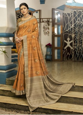 Swanky Printed Designer Traditional Saree