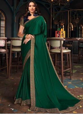 Tamannaah Bhatia Green Designer Saree