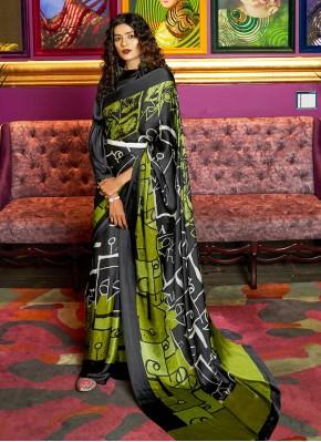 Tiptop Printed Saree For Festival