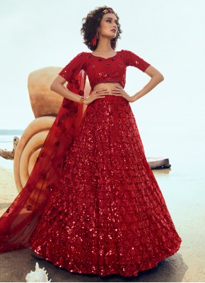 Tiptop Sequins Wedding Designer Lehenga Choli