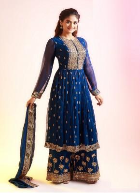 Topnotch Chiffon Hand Embroidery Pakistani Suit