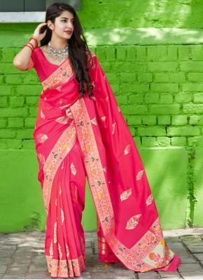 Topnotch Weaving Silk Classic Saree