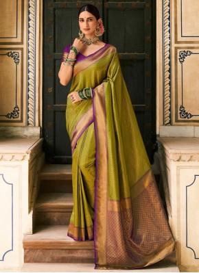 Transcendent Woven Designer Saree