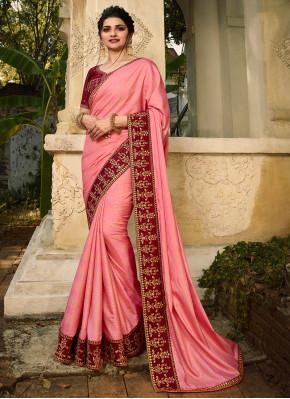 Unique Silk Resham Classic Designer Saree