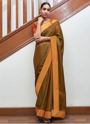 Urbane Gold Lace Traditional Designer Saree