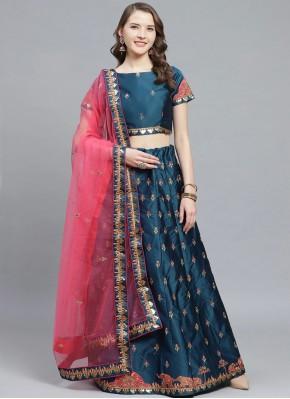 Versatile Embroidered Bollywood Lehenga Choli