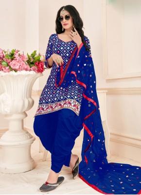 Vibrant Patiala Suit For Party