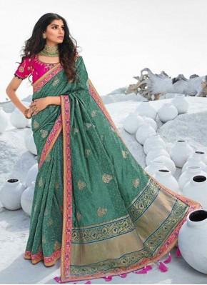 Vibrant Resham Traditional Saree