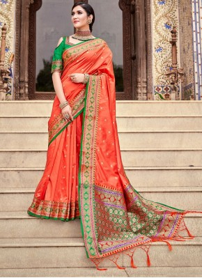 Vivacious Silk Traditional Saree