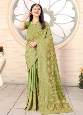 Vivid Embroidered Traditional Designer Saree