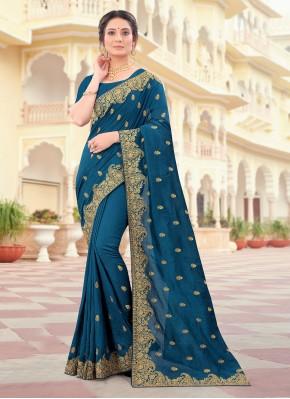 Vivid Patch Border Traditional Designer Saree