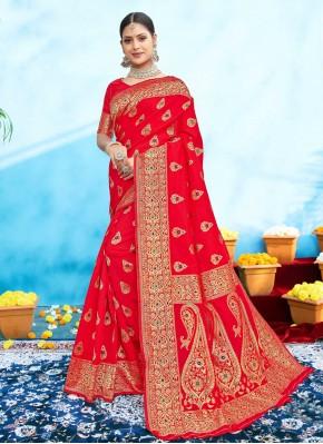 Vivid Weaving Festival Designer Traditional Saree