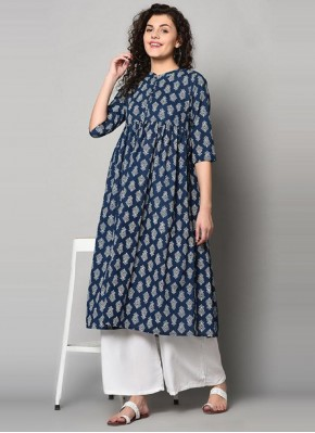 Whimsical Party Wear Kurti For Festival