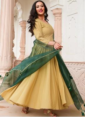 Wonderous Cotton Festival Designer Salwar Suit