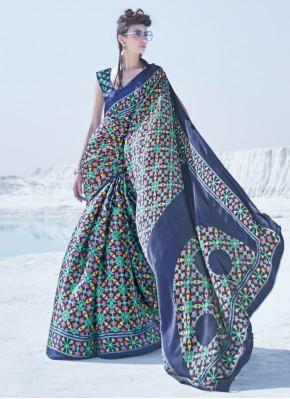 Wonderous Multi Colour Party Classic Saree